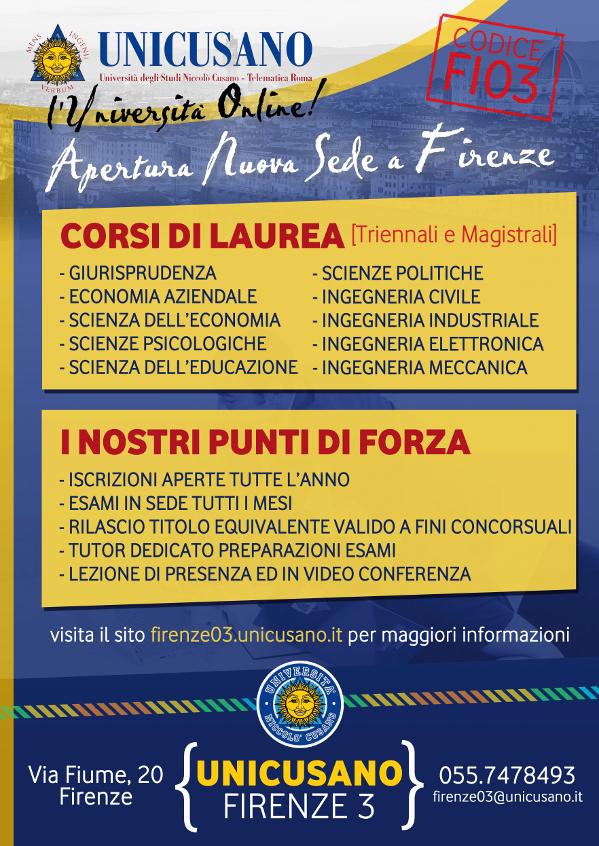 Universita Telematica Niccolo Cusano I I S L Da Vinci Fascetti
