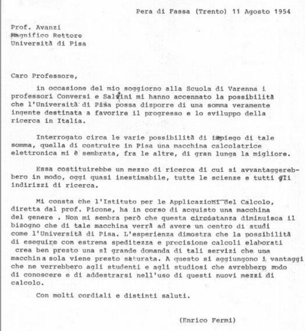Lettera_Fermi_11_agosto_1954_600